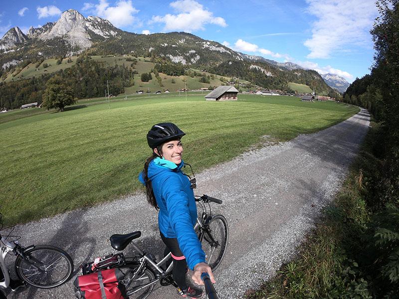traveling switzerland by bike