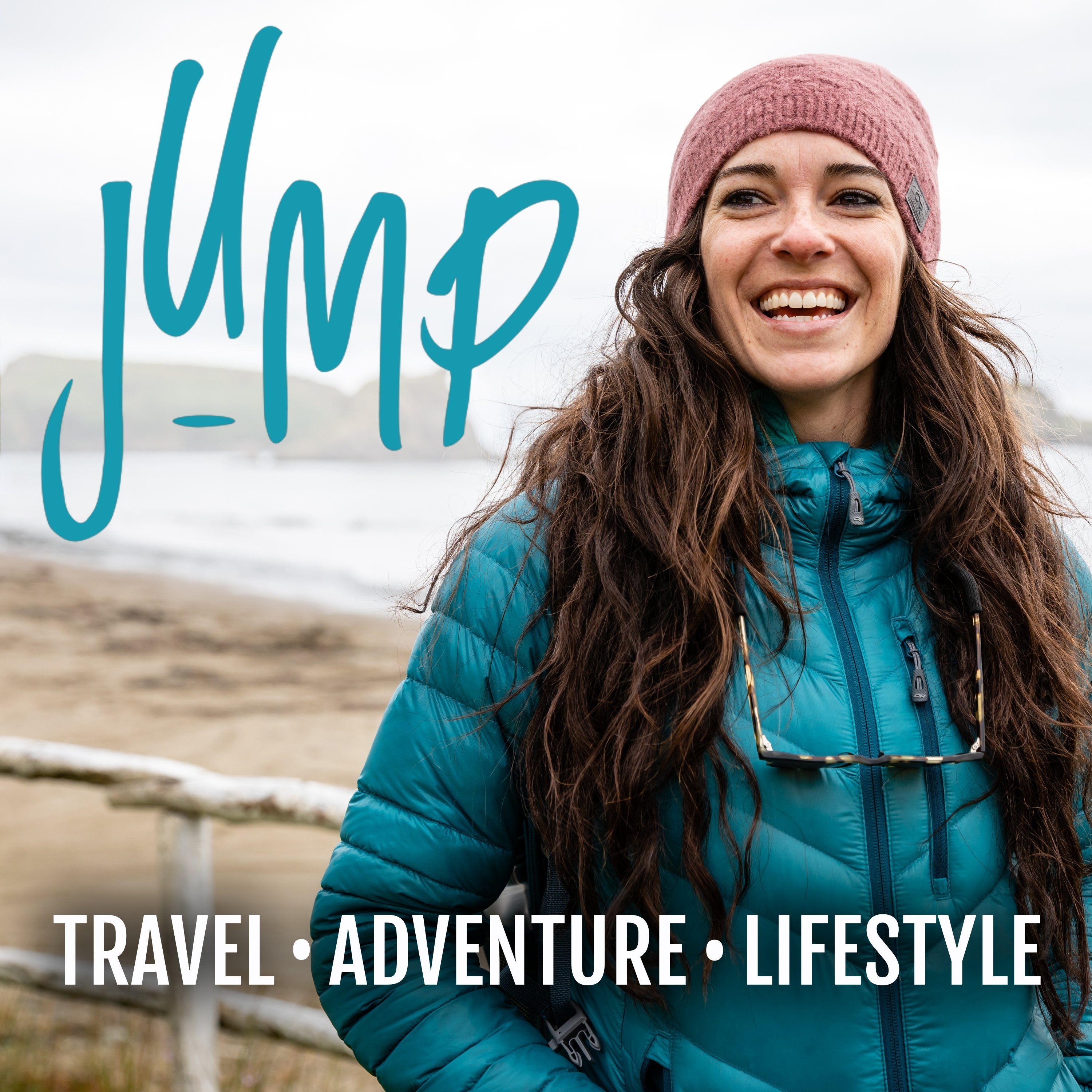 JUMP with Travelling Jackie podcast cover photo